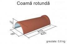 coama rotunda - Accesorii pentru acoperis