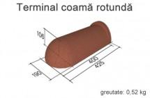 terminal coama rotunda - Accesorii pentru acoperis