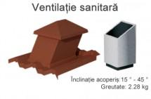 ventilatie sanitara - Accesorii pentru acoperis