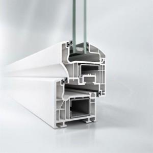 Profil din aluminiu pentru ferestra Corona CT 70 AS - Sistem de ferestra Corona CT 70 AS