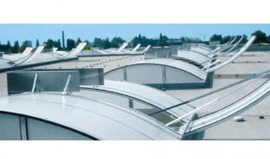 Trape mobile pentru luminatoare continue - JET - D - Sisteme trapa de fum pentru voleti - SMOKEJET® + E - Trapa luminatoare JET-VARIO