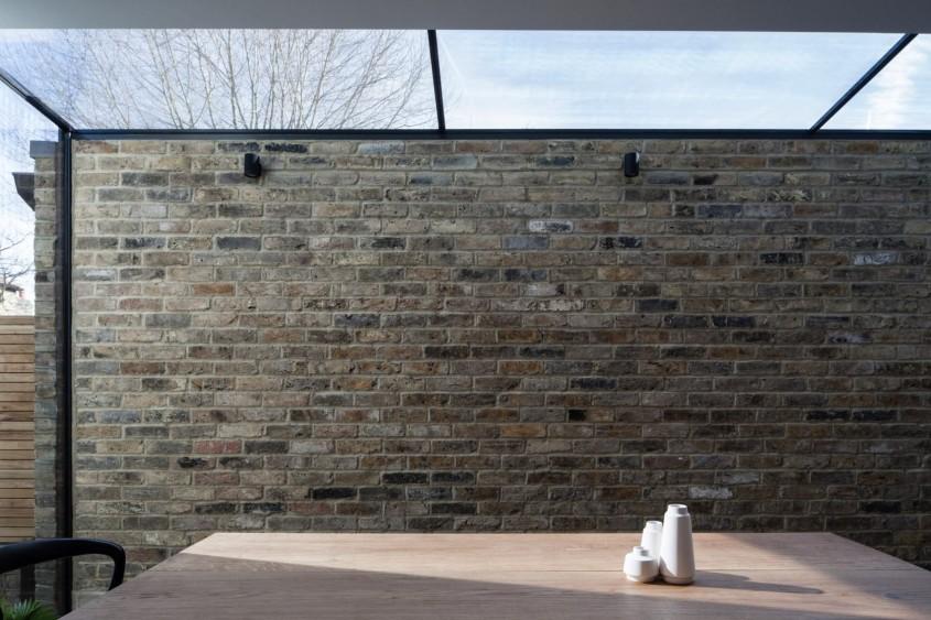 Extindere modernă a unei case vechi din nordul Londrei - Extindere modernă a unei case vechi