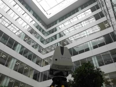 Proiect Renault Offices, Bucuresti, Relevee Boma prin scanare 3D - Masuratori Boma