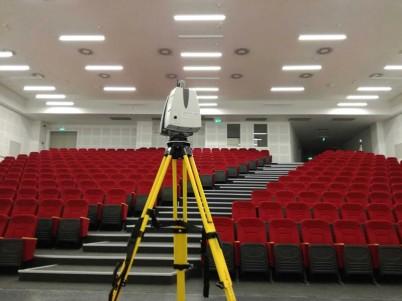 Relevee Boma prin scanare 3D, proiect Renault Offices, Bucuresti - Masuratori Boma