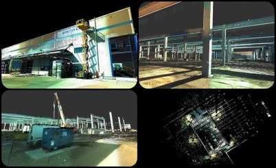 WDP Park Oarja-scanare 3D-Boma in hale - Masuratori Boma