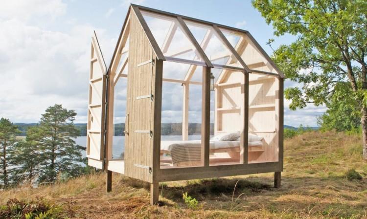 """Programul """"72 de ore la cabana"""" - Cabanele din sticlă, soluția anti-stres propusă de suedezi"""