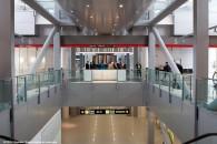 Placare interioara Aeroport-Otopeni  - PROIECTE din Romania realizate cu ALUCOBOND