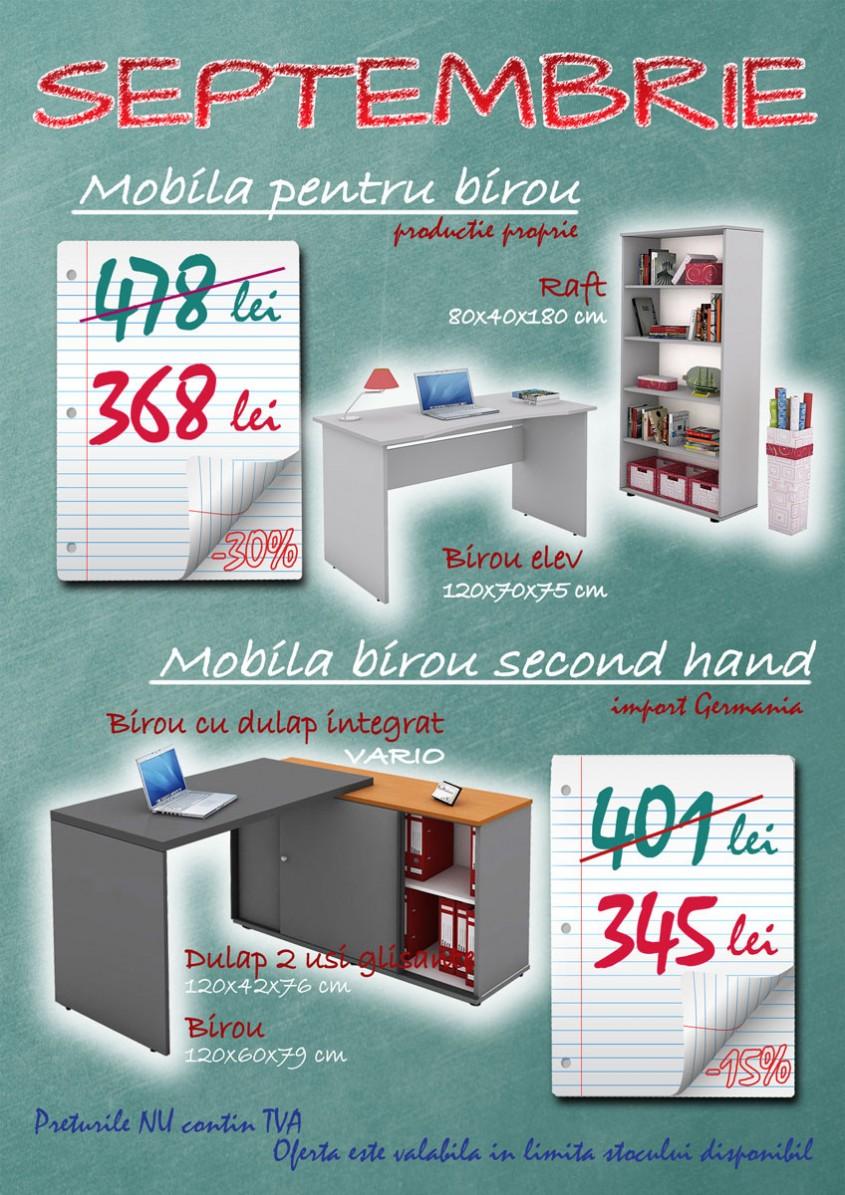 Promotie mobila pentru birou, in luna septembrie - Promotie mobila pentru birou, in luna septembrie