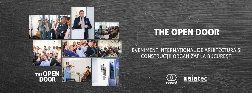 Evenimentul internațional de arhitectură și construcții - The Open Door - Evenimentul internațional de arhitectură și