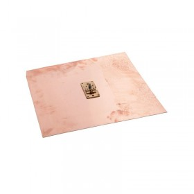 Placa cupru impamantare 500x500x2mm - Impamantare otel cuprat