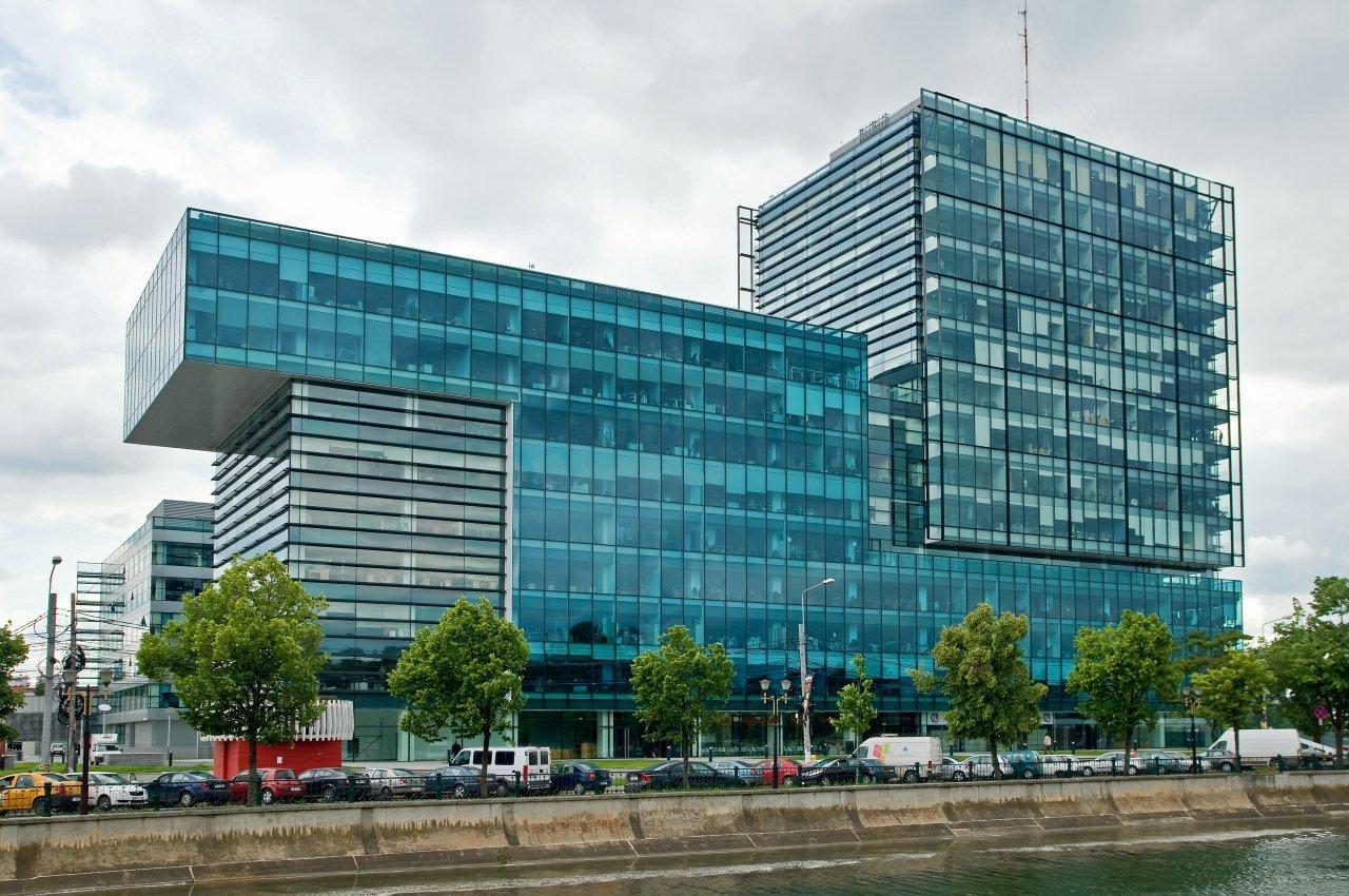 Prelucrare sticla complex de birouri Sema Parc - Complex de birouri Sema Park
