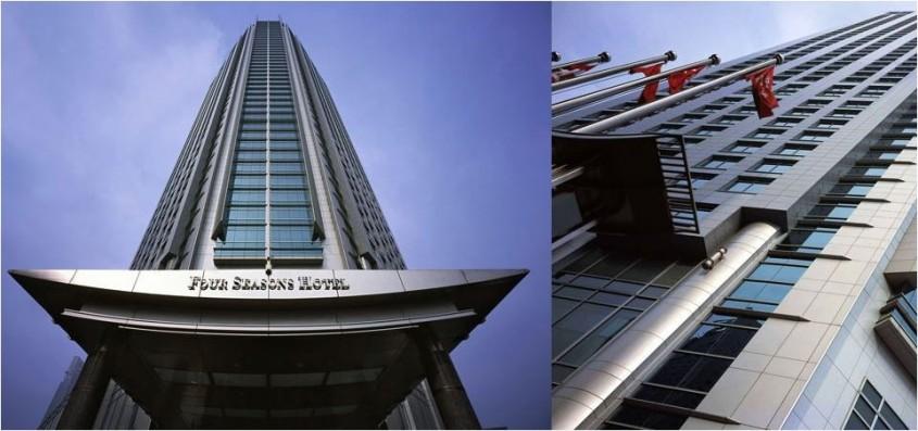 Hotelul Four Seasons Shanghai - 3 exemple de cladiri care asigura cele mai inalte standarde de