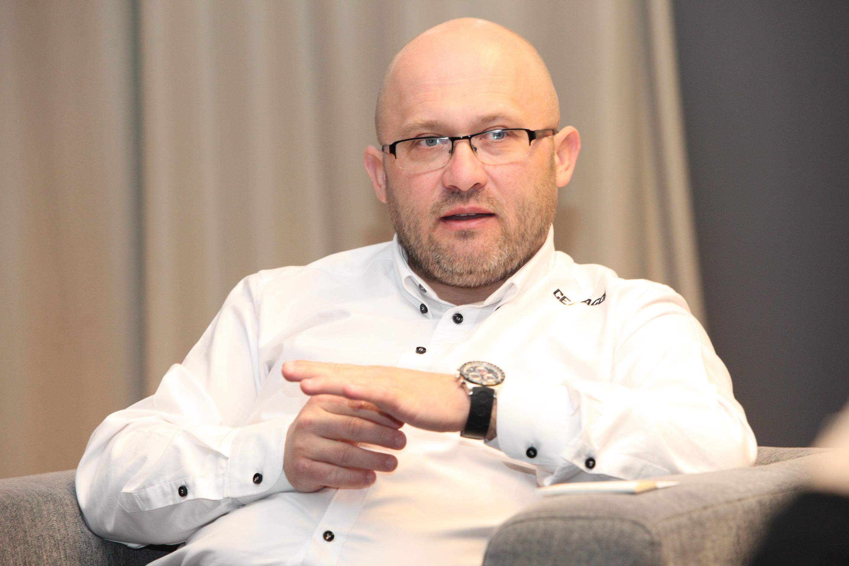 Liviu Stoleru Director General și Președinte al Consiliului de Administrație al Cemacon - Cemacon a devenit