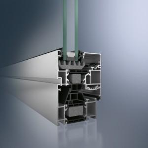 Profil din aluminiu pentru fereastra - Schüco AWS 70.HI - Profil din aluminiu pentru fereastra - Schüco AWS 70.HI