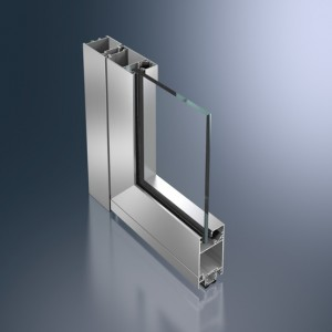 Profil din aluminiu pentru usa - Schüco ADS 50.NI - Sisteme de profile din aluminiu pentru usi