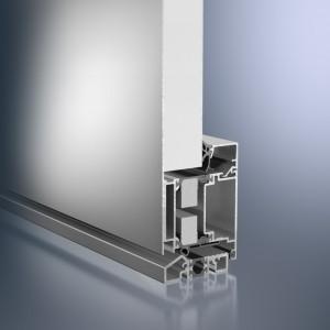 Profil din aluminiu pentru usa - Schüco ADS 70.HI - Sisteme de profile din aluminiu pentru usi
