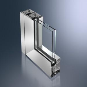 Profil din aluminiu pentru usa - Schüco ADS 75 HD.HI - Sisteme de profile din aluminiu pentru usi
