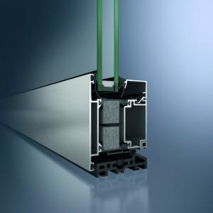 Profil din aluminiu pentru usa - Schüco ADS 75.SI - Sisteme de profile din aluminiu pentru usi