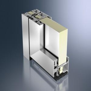 Profil din aluminiu pentru usa - Schüco ADS 112.IC - Sisteme de profile din aluminiu pentru usi