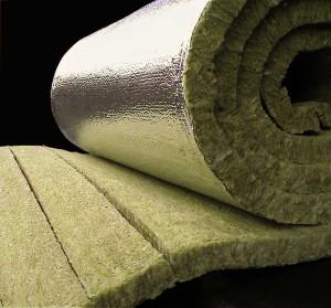 Larock 65 ALS - Saltele din lamele de vata bazaltica caserate cu folie de aluminiu - Izolatii termice din vata bazaltica pentru instalatii