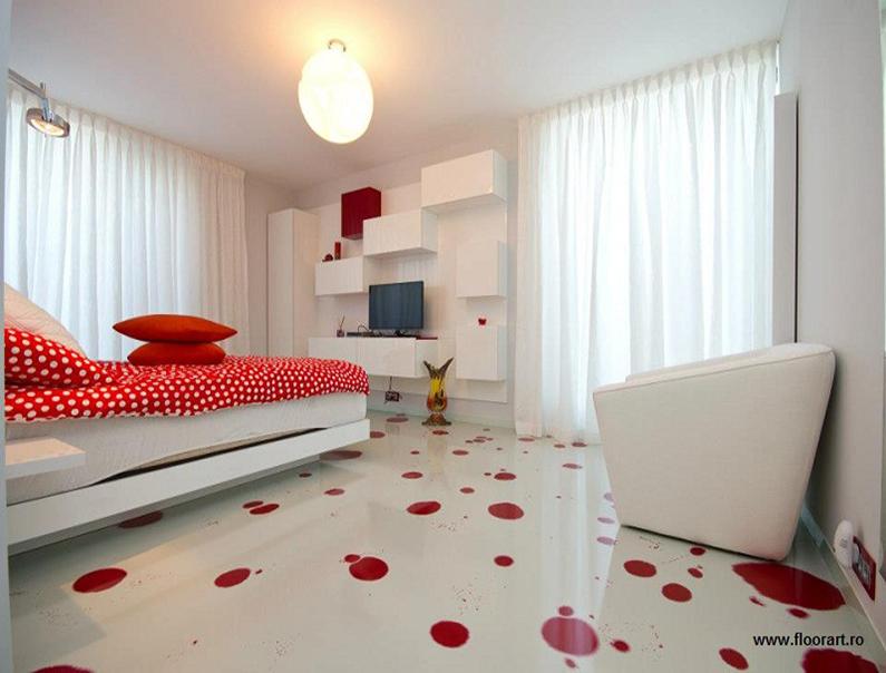 Pardoseala decorativa - Rasina epoxidica - Pardoseli decorative pentru cafenele, restaurante, terase de vara