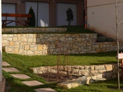 Scari placate cu piatra naturala - Lucrari DECOR LIMESTONE