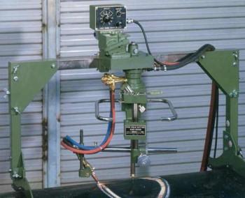 Aparat portabil pentru decupari circulare cu oxigaz KHC-600D - Echipamente CNC si portabile de taiere