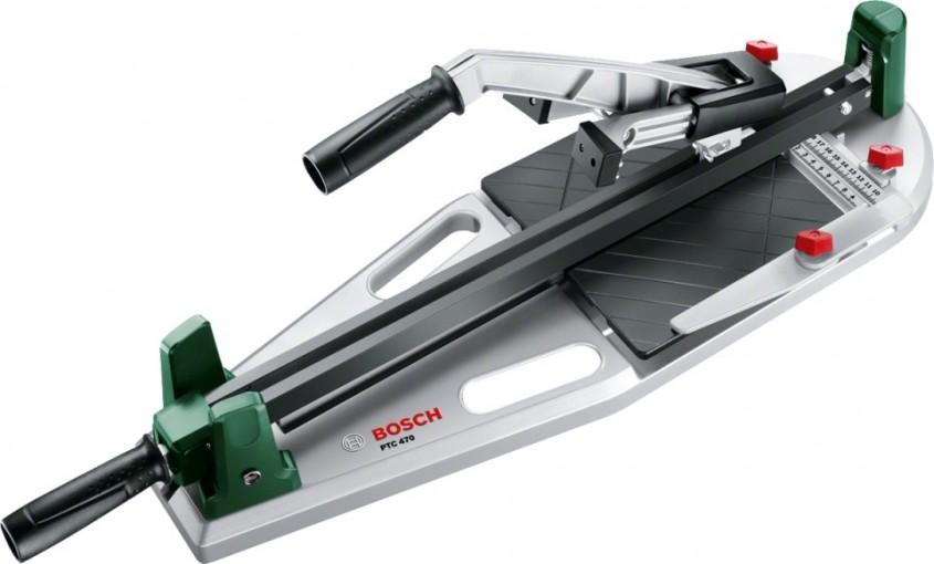 Taierea fara efort a placilor de gresie si faianta cu noul Bosch PTC 470 - Taierea