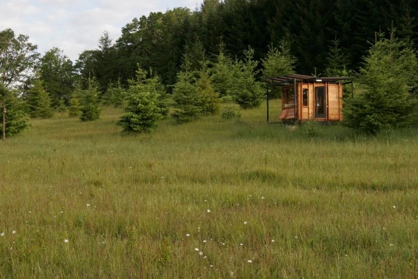 Un studio creat special pentru a susține pasiunea pentru scris și natură - Un studio creat