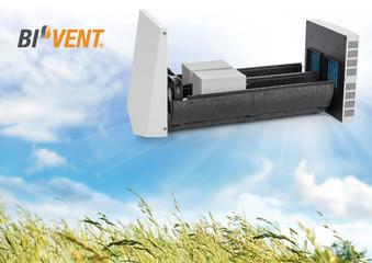 Ventilator cu recuperare de caldura BiVent - Sistemele de ventilare descentralizate