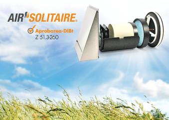 Ventilator cu recuperare de caldura Air Solitaire - Sistemele de ventilare descentralizate