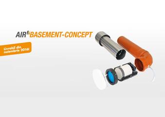 Ventilator pentru subsoluri Air Basement-Concept - Sistemele de ventilare descentralizate