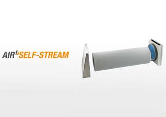 Pasaj de trecere a aerului in exterior fara ventilator Air Self-Stream - Sistemele de ventilare descentralizate