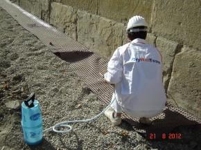 Tratament antiigrasie pentru protectia peretilor de zidarie - Tratament antiigrasie
