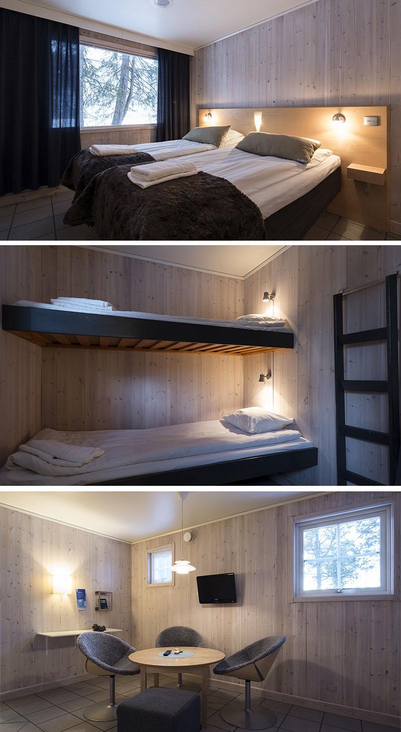Camerele calde - Design deosebit pentru un hotel de gheata