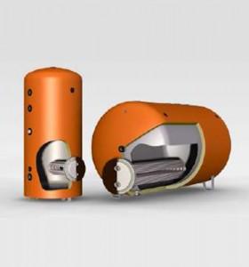 Boiler cu serpentina extractabila de tip U QB/X-HBX-XN/X  - Boilere