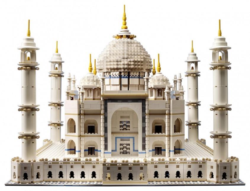 LEGO Architecture Taj Mahal - LEGO relansează setul de construcție Taj Mahal cu aproape 6000 de