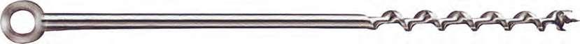Burghiu elicoidal cu coada inel - Burghie pentru lemn - Irwin