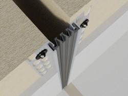 Profile dilatatie pereti, fatade Hidroplasto 326 - Profile pentru rosturi de dilatatie fatade