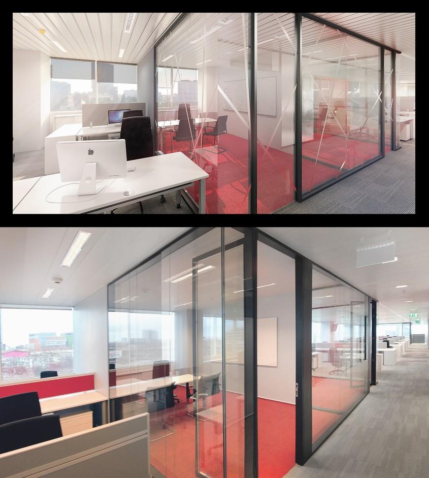 Seria PRIMACY de pereti despartitori PREMO - suprematia tehnica si estetica in domeniul compartimentarilor interioare -