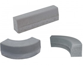 Bordura din beton - BDZN - 3 variante - Borduri din beton - ELPRECO