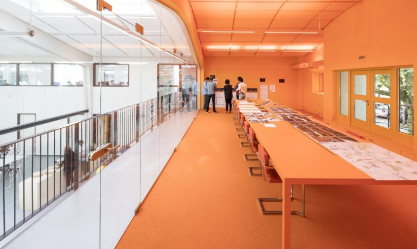 Casa MVRDV - Noile birouri MVRDV amenajate intr-un monument istoric