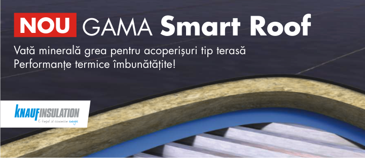 Gama Smart Roof, de la Knauf Insulation - Gama Smart Roof, de la Knauf Insulation