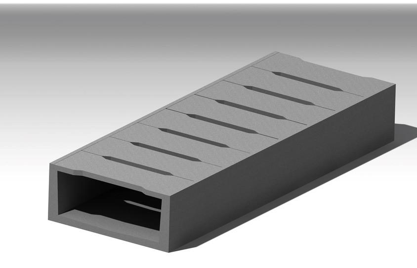 Dala din beton - Rigola si dala din beton