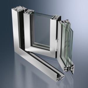 Profil glisant-pliant din aluminiu Schüco ASS 80 FD.HI - Profil glisant-pliant din aluminiu Schüco ASS 80 FD.HI