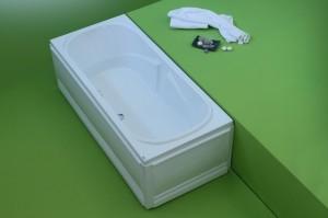 Cada dreapta - FAVORIT - Cazi de baie drepte (rectangulare)