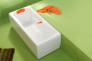 Cada dreapta - OPTIMA - Cazi de baie drepte (rectangulare)