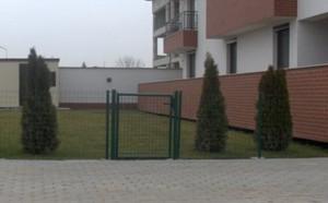 Poarta pietonala Garden P - Porti de acces metalice