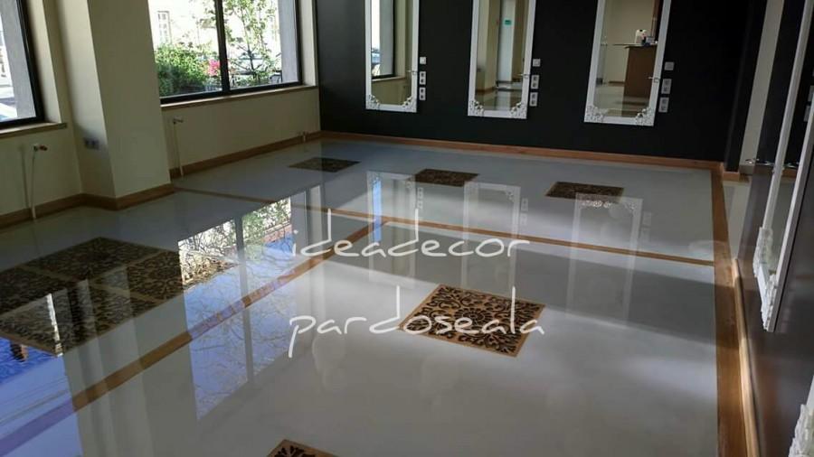 epoxy transparent - Pardoseli epoxidice