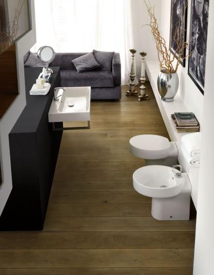 Obiecte sanitare KERASAN colectia Cento  - Obiecte sanitare seturi